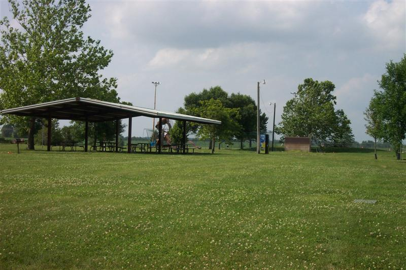 Tennis Courts Shelter Baseball Diamond